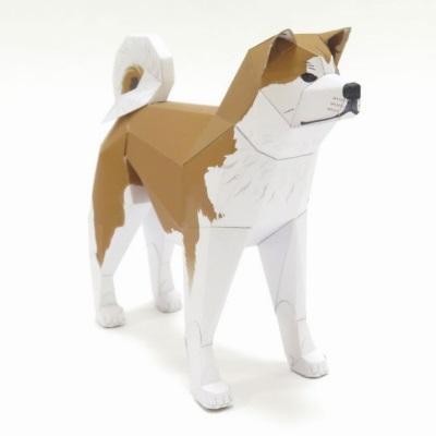 Dog Papercraft: Akita-inu
