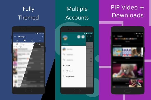 Frost - Μία καλύτερη Facebook εφαρμογή για Android κινητά