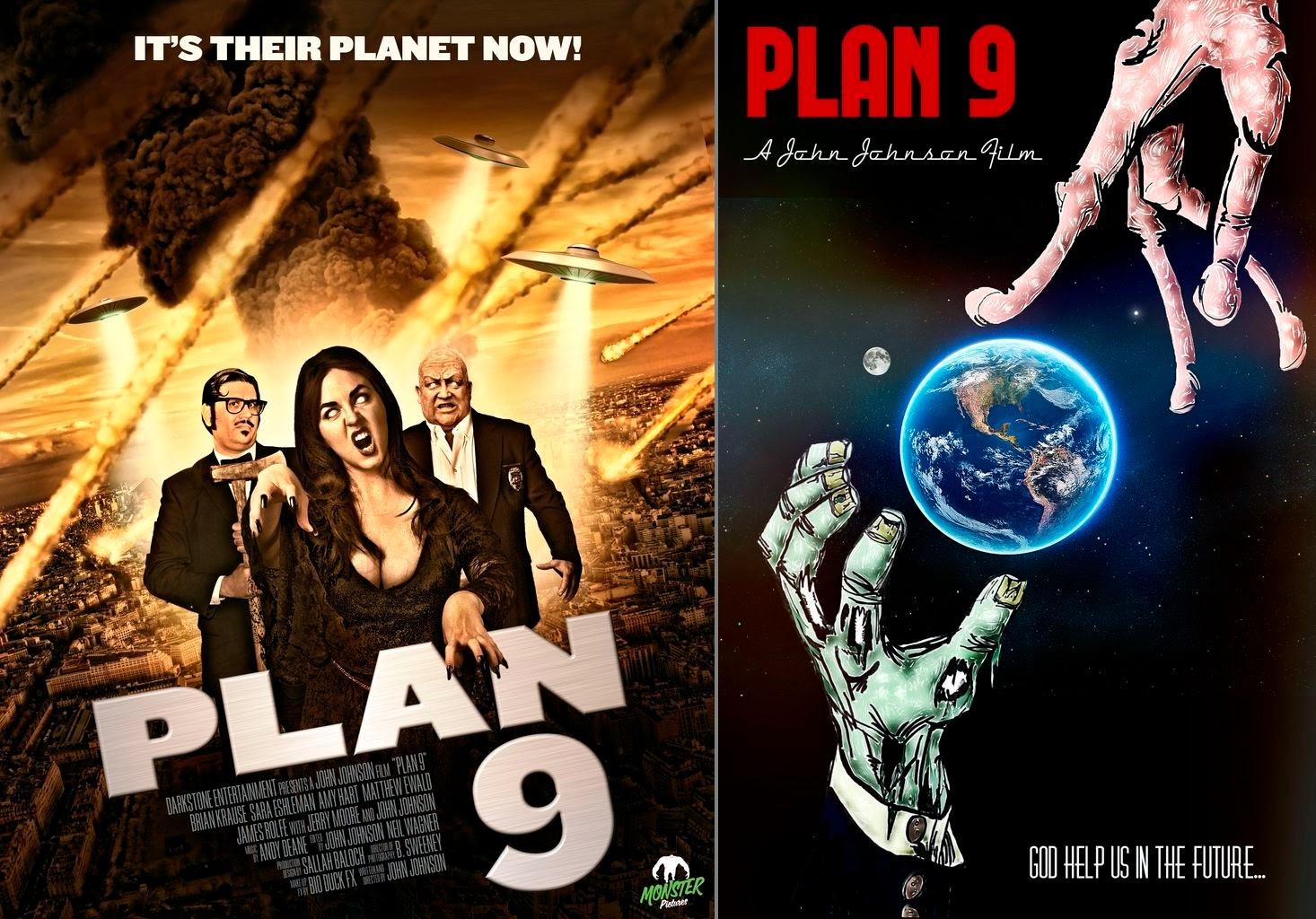 Plan 9, due locandine