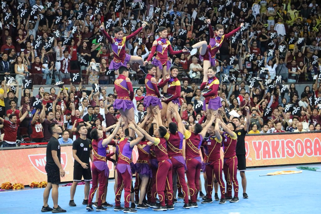 UP Pep Squad Cheerdance Competition CDC 2017 performance