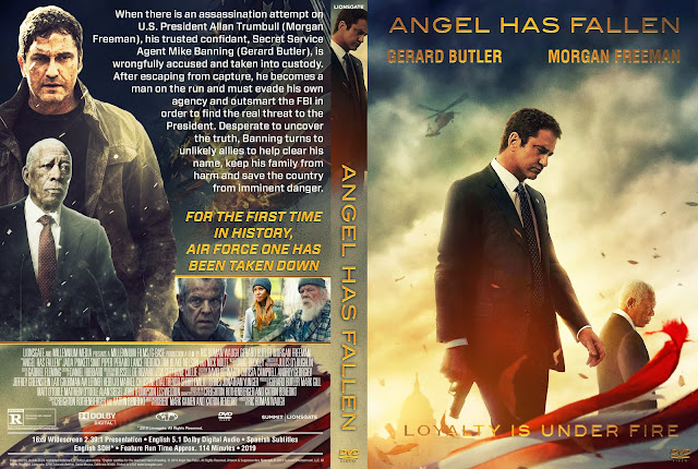 Angel Has Fallen DVD Cover