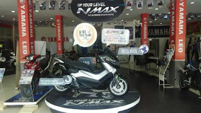 Yamaha NMax di salah satu dealer Yamaha