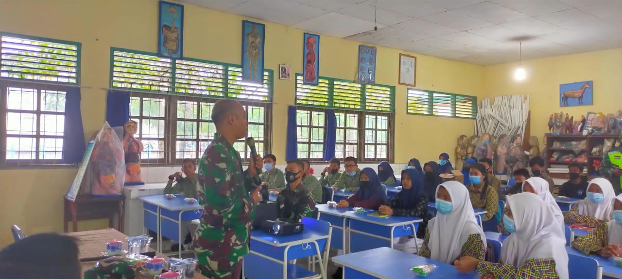 Dandim 0318/Natuna Sosialisasikan Tentang Sekolah SMA Taruna Nusantara Magelang