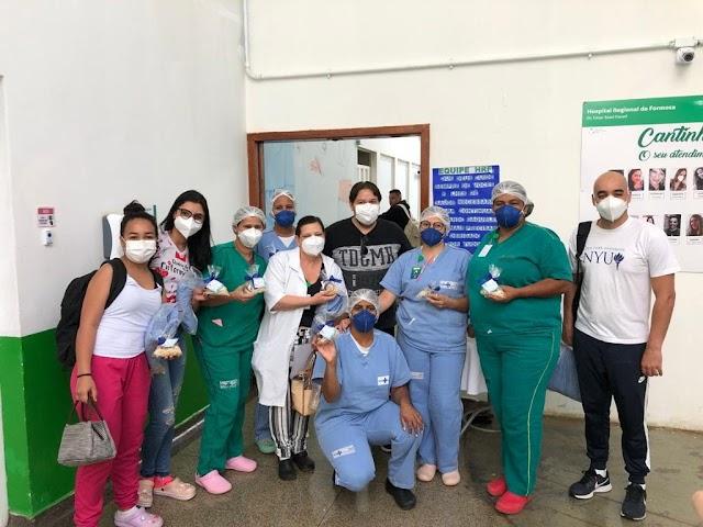 Os Paciente homenageiam os profissionais do Hospital Estadual de Formosa! Confira