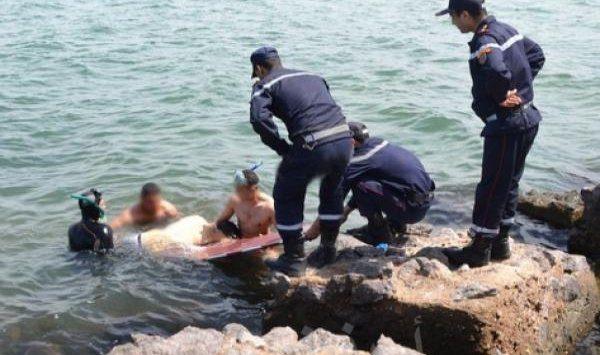 المهدية : البحر يلفظ جثة آدمية متحللة على شاطئ الشابة