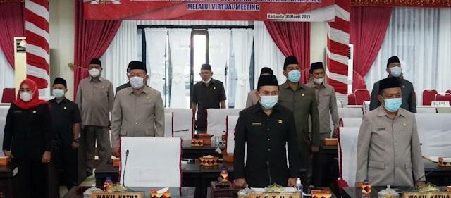 Nanang Ermanto Sampaikan LKPJ Tahun Anggaran 2020 Kepada DPRD Lampung Selatan