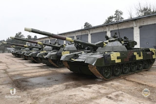 Tank T-72 Ukraina Yang Dimodernisasi