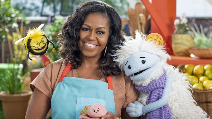 Michelle Obama launches a Netflix cooking show for kids, starring puppets