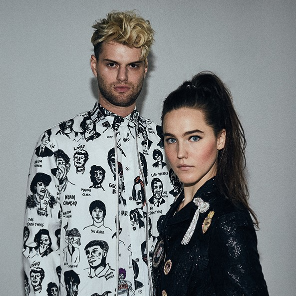 Music Television presents Sofi Tukker and their music videos to Drinkee and Awoo