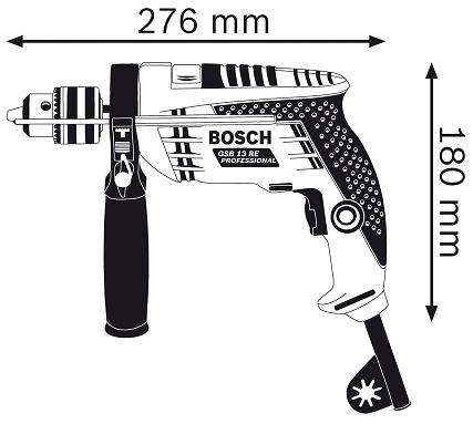 Máy khoan sắt Bosch GSB 13 RE