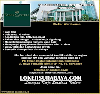 Karir Surabaya Terbaru di PT. Faber Castell International Indonesia Nopember 2019