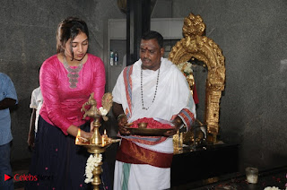 Vijay Sethupathi and Lakshmi Menon Pictures at Rekka Movie Pooja  0042.jpg
