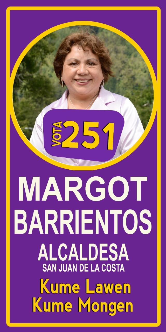 Margot Barrientos.