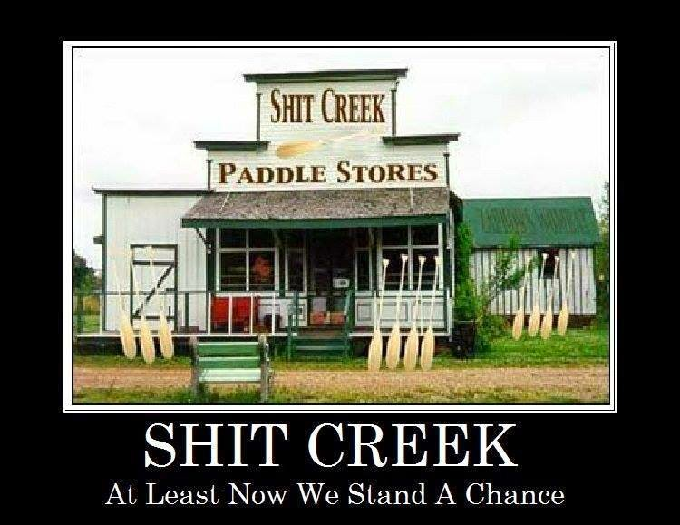 SHIT CREEK PADDLES FOR SALE
