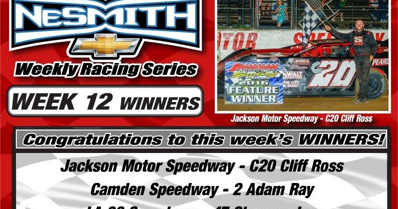 Deep Dixie Racing Nesmith Chevrolet Weekly Racing Series