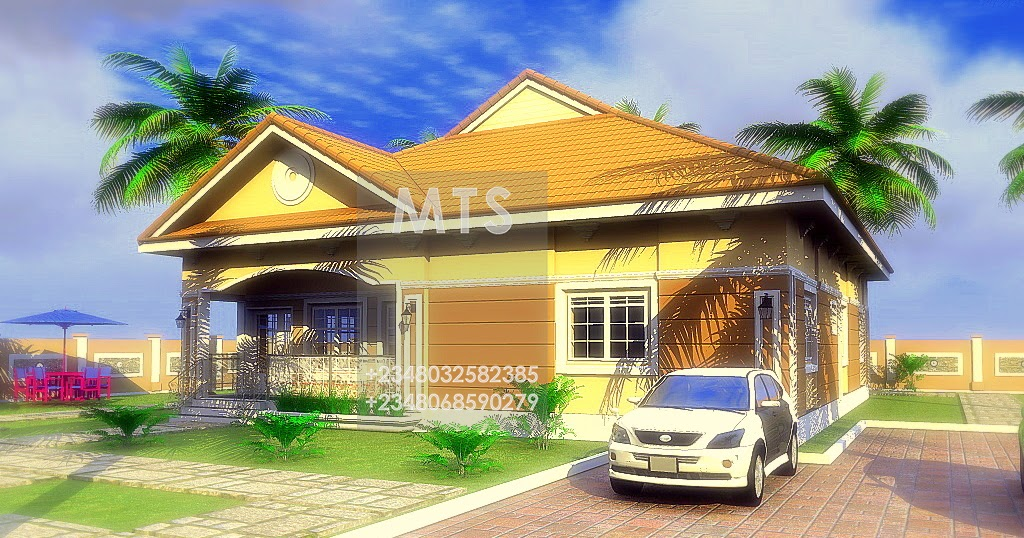 2 bedroom bungalow modern and contemporary nigerian for 2 bedroom bungalow