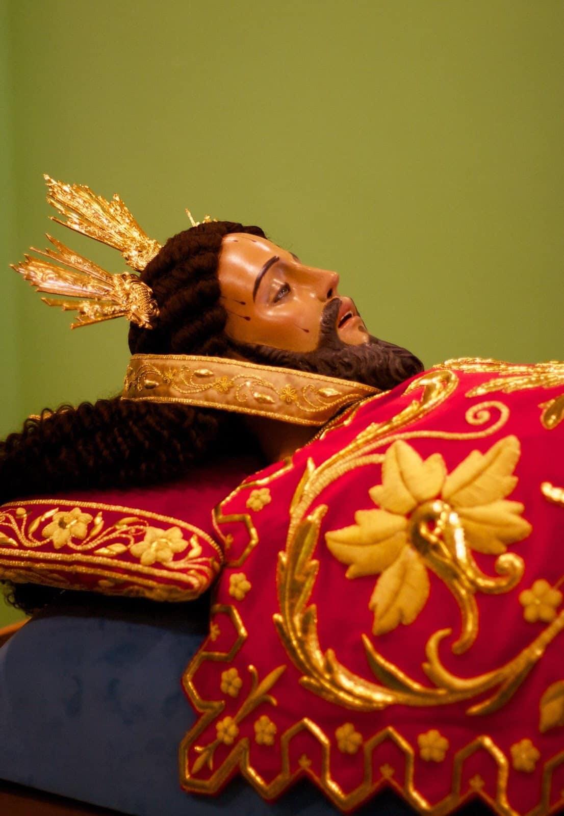 The restored post-war Señor Santo Sepulcro of Paco
