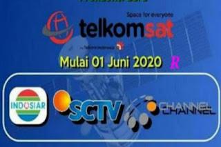 Channel Yang migrasi ke Telkom 4 dari Palapa