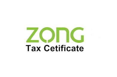 zong-tax-certificate
