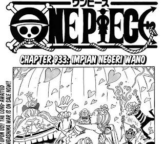 Update! Baca Manga One Piece Chapter 993 Full Sub Indo