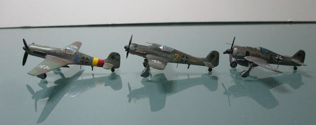 1/144 Focke-Wulf 190 A-8 190 D-9 TA152 diecast metal aircraft miniature