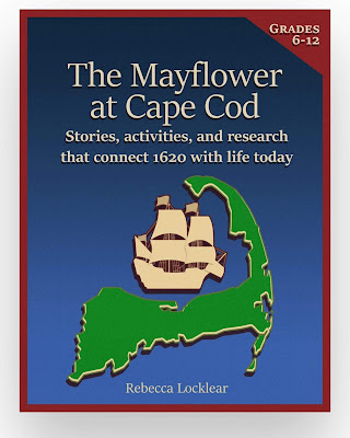cover of The Mayflower at Cape Code: Stories, activities, and research that connect 1620 with life today