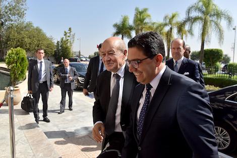 """ملفات """"الإسلام والهجرة"""" تقود وزير الخارجية الفرنسي إلى المغرب"""