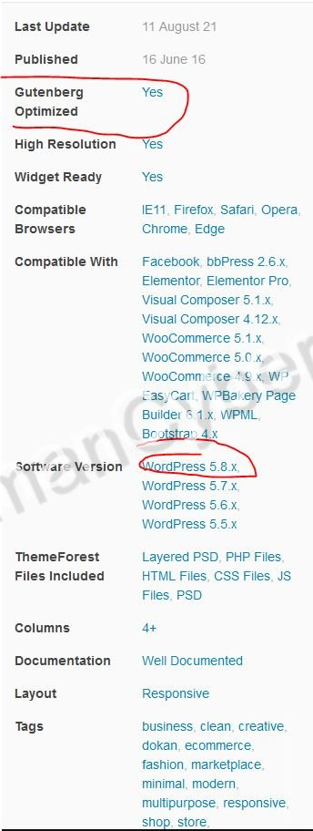 beli tema wordpress di marketplace