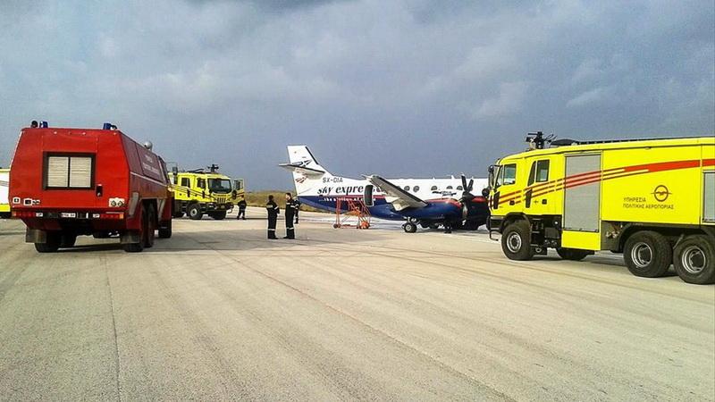 Επίκαιρη ερώτηση του ΚΚΕ για τη στελέχωση των 12 περιφερειακών αεροδρομίων της «Fraport» με προσωπικό του Πυροσβεστικού Σώματος