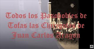 Todos los pasodobles de todas las Chirigotas de Juan Carlos Aragón Becerra