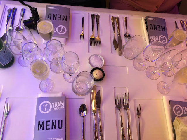 tram experience brussels belgium dinner