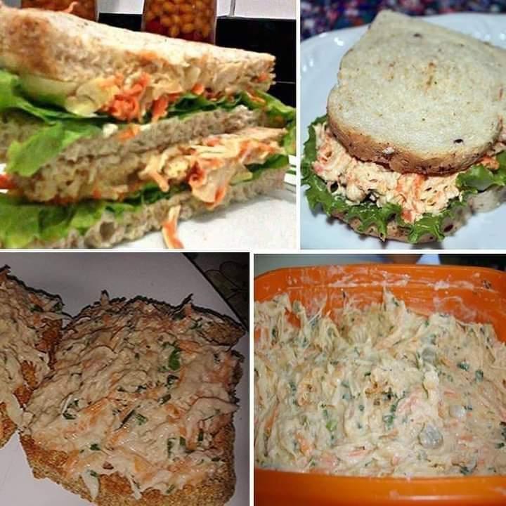 Sanduíche Natural de Frango delicioso