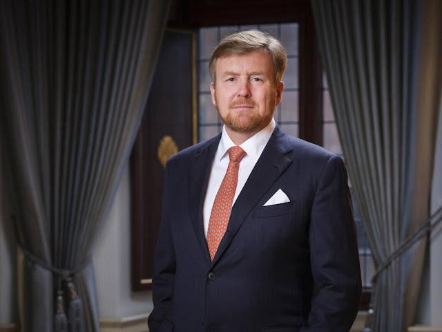 الملك فيليم ألكسندر يلقي خطاباً للشعب اليوم للحديث عن ازمة كورونا في هولندا