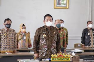 Masuk 10 Besar Provinsi Terbaik, Provinsi Lampung Raih Penghargaan Pembangunan Daerah Tahun 2021