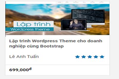 SHARE Khóa Học: Lập Trình Wordpress Theme Cho Doanh Nghiệp Cùng Bootstrap