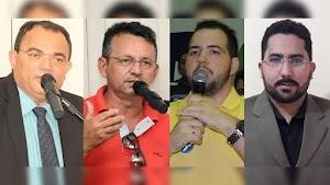 Quatro nomes movimentam a corrida sucessória em Felipe Guerra