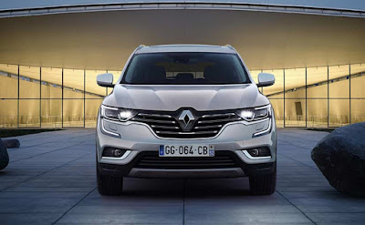New 2017 Renault Koleos Facelift front Hd Photos