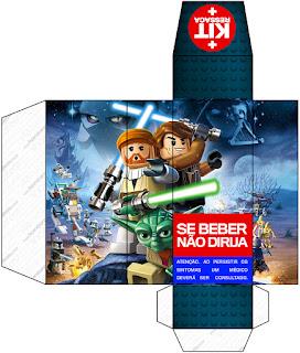 Caja Hangover de Star Wars Lego.