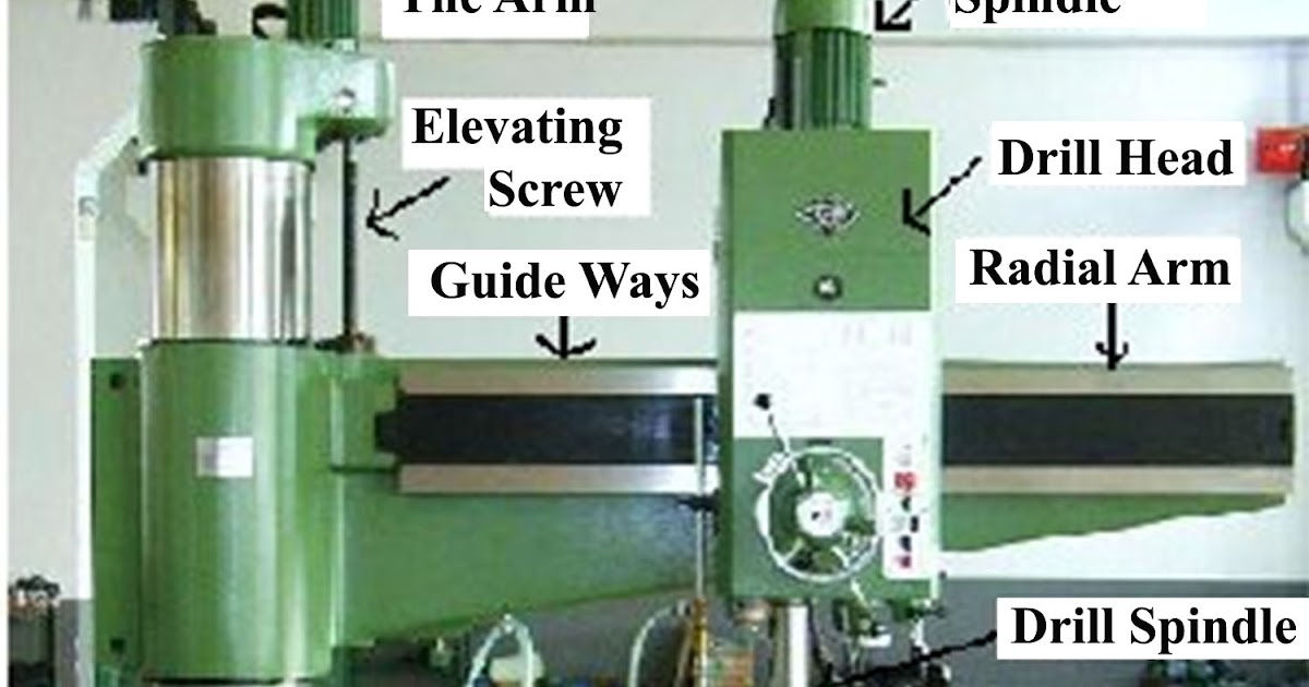 What is a Radial Drilling Machine? - Q Hunt