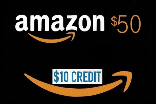 What is Amazon courtesy credit