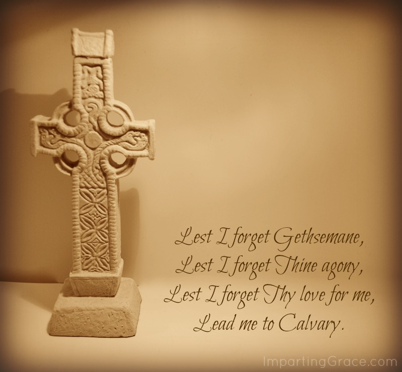 Lead me to Calvary: a hymn for our hearts