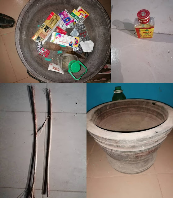 Bloodied kids rescued from house filled with fetish items where they were locked up and abused by suspected female ritualists who own a ministry (pictures)