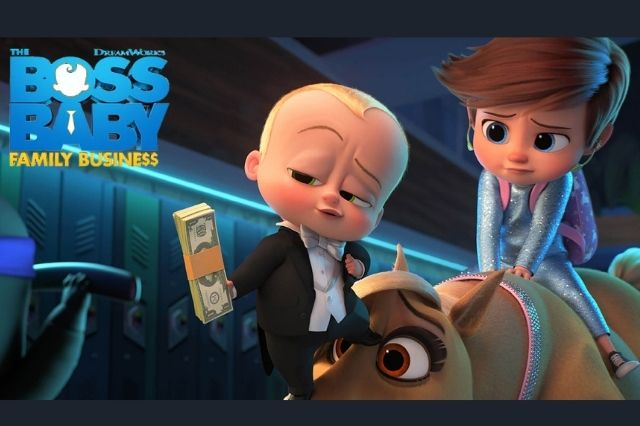 FILM - The Boss Baby Family Business 2021 Subtitle Indonesia