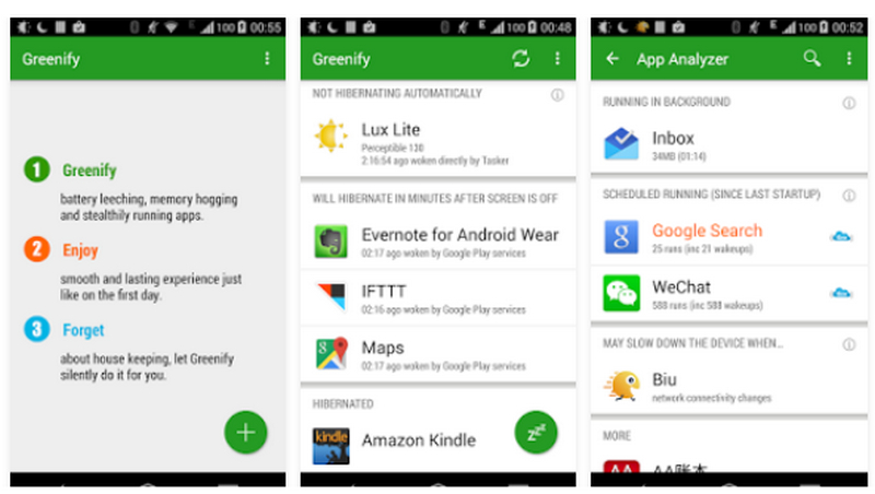 Greenify Battery Saver - Best Battery Saver App for Android