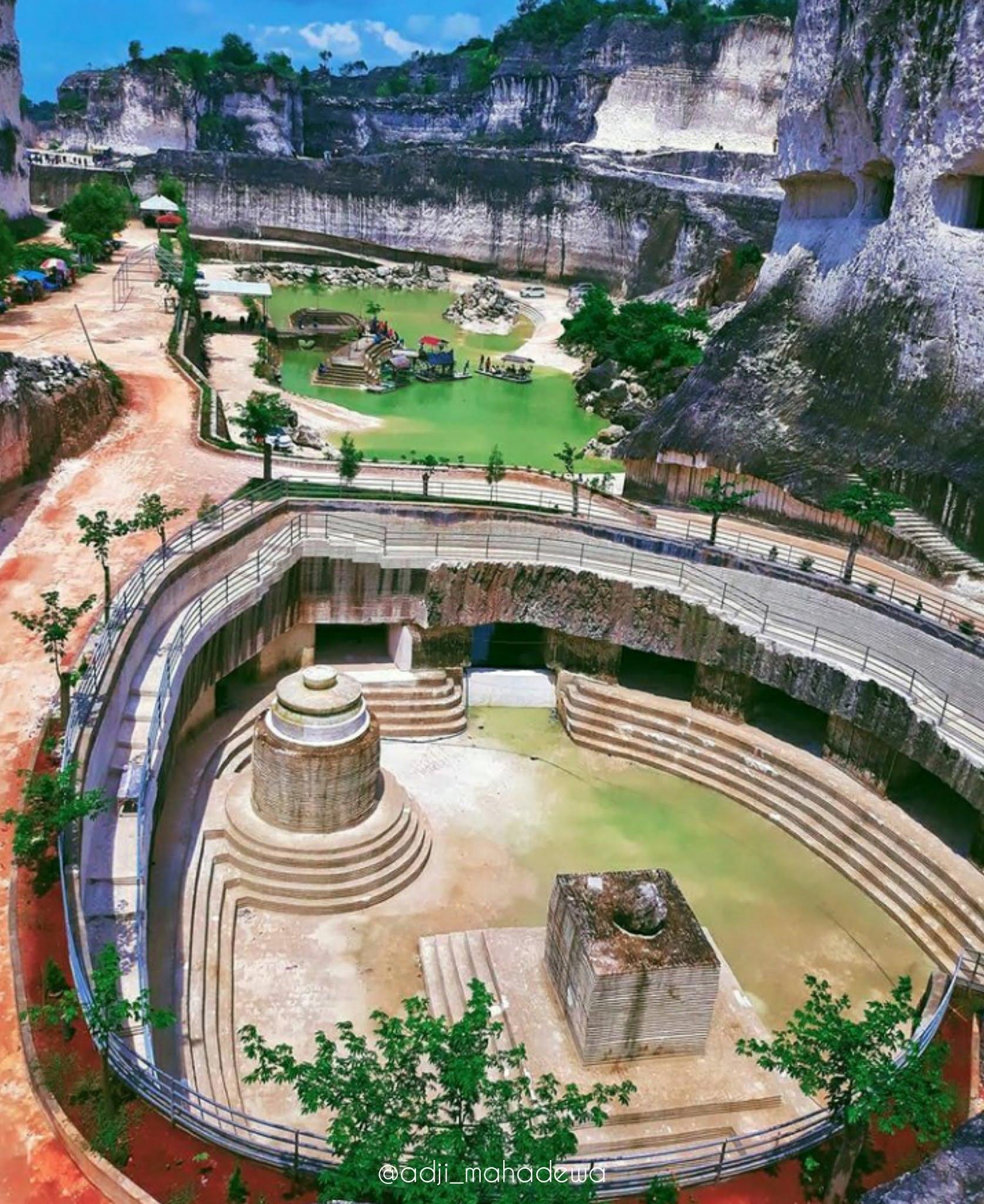 keindahan tempat wisata Bukit Jaddih Bangkalan