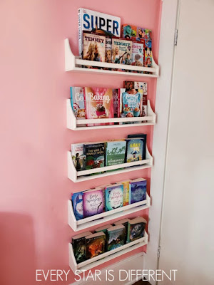 A Minimalist Montessori Preteen Girl's Library