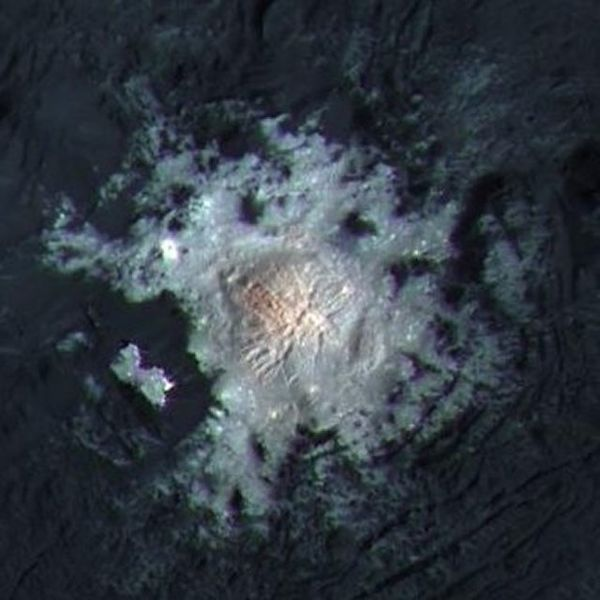 Cratera Occator - Ceres