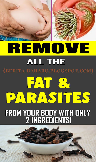 DIET & WEIGHTLOSS Remove All The FAT And PARASITES From Your Body With Only 2 Ingredients!
