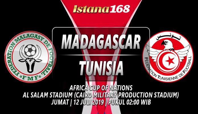 Prediksi Madagascar Vs Tunisia 12 Juli 2019