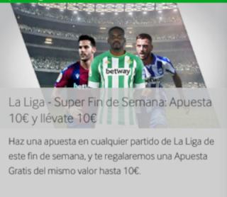 betway promo La Liga 19-20 septiembre 2020